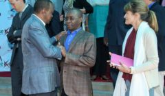 Pics: Strive Masiyiwa Meets Kenyan President
