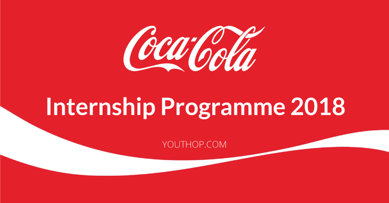Coca-Cola Company Internship Programme 2018