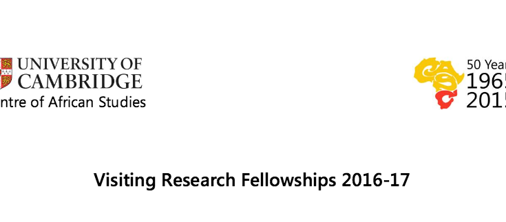 The Centre of African Studies Visiting Fellowship