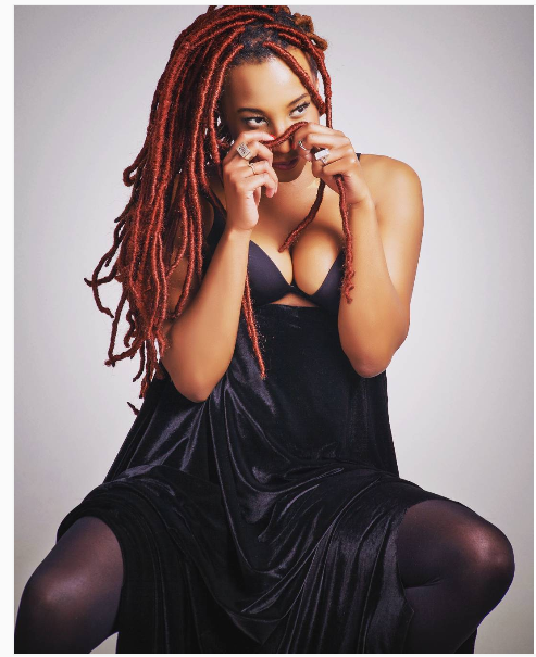 5 Times Chiedza Mhende Shows Off Her Red Wig