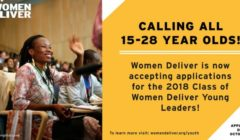 Women Deliver Young Leaders Program 2018
