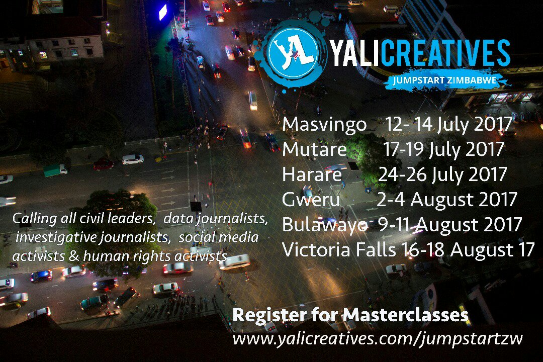 JumpStart Masterclass by YALI Creatives
