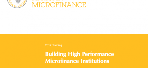 MasterCard Foundation Microfinance Scholars program 2017