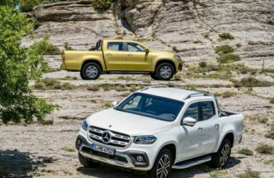 Mercedes-Benz Finally Reveals The X-Class
