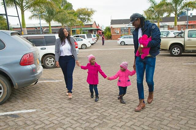 Ncaaww! Check Out Jah Prayzah And His Adorable Family