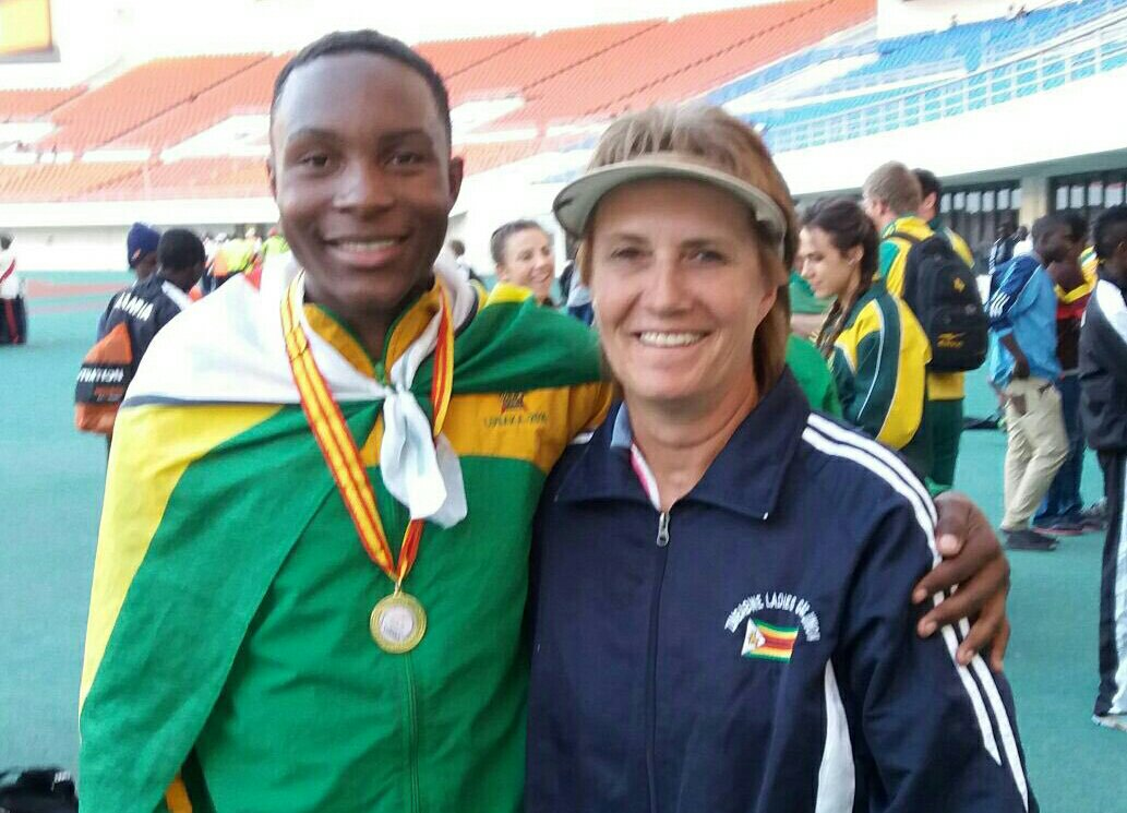 Zimbabwean Mapaya Jumps For Gold In Algeria