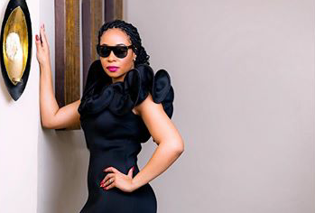 Pics! Pokello's All Black Everything Swag