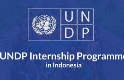 Internship Programme at UNDP in Indonesia