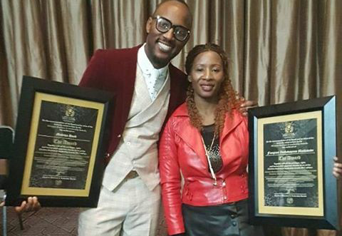 Zim Gospel Artists Mudiwa And Fungisai Win Business Leadership Awards
