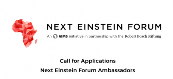Next Einstein Forum Young Ambassador Programme 2017/2018 for Young Africans