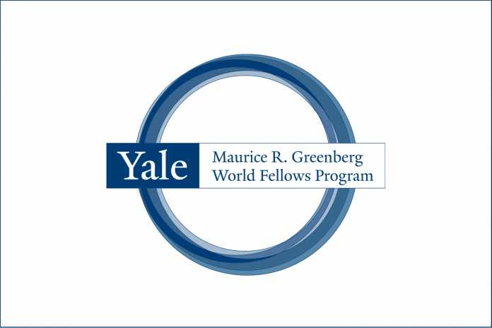 Yale Greenberg World Fellows Program 2018